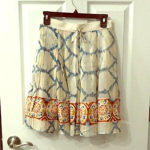 Banana Republic Flowy Silk Skirt